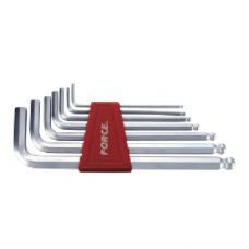 Набор 6-гр. длинных ключей с шаром Force 5072LB (2.5-10 мм) 7 пр.