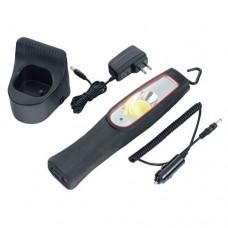 Светодиодный аккумуляторный фонарь Force 68608 (10W) с 2-мя адаптерами
