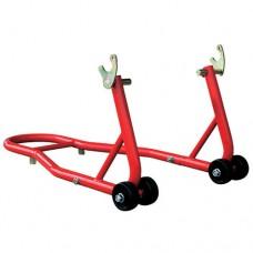 Опора мотоциклетная Torin Big Red TRMT016 рычажная, L-образная, с вилкой (200 кг)