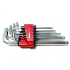 Набор 6-гр. длинных ключей с шаром Force 5093LB (1.5-10 мм) 9 пр.