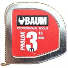 Рулетка Baum 331M3 (3 м) в металлическом корпусе