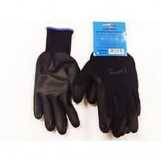 Перчатки универсальные (черные), с полиуретановым покрытием. р10 Unitraum UN-P003-10